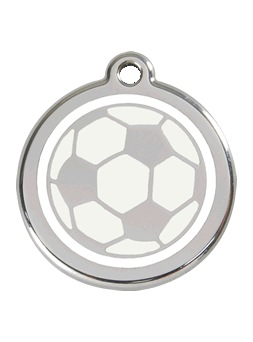 Placa identificativa Red Dingo Soccerball