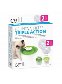 Filtros para Fountain Flower 3 L CATIT