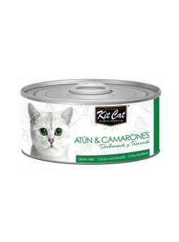 Kit Cat Atún con Camarones