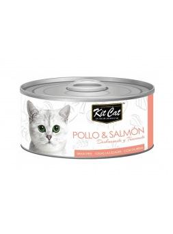 Kit Cat Pollo con Salmón