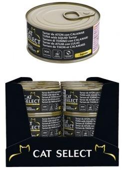 Cat Select Tartar De Atún y Calamar 70 g