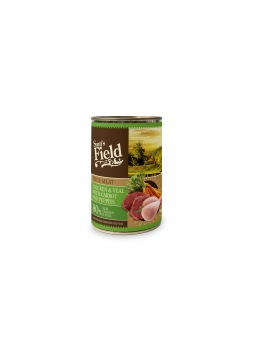 Pollo & Ternera con Zanahorias para Cachorros Sam´s Field