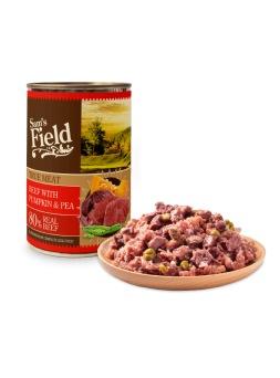 Carne de Vaca con Calabaza y Guisantes