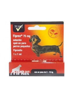 Fiprex Perros Pequeños Solucion Spot On 1 pipeta