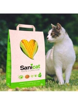 Sanicat 100% mazorca de maíz