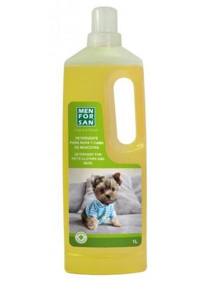 Detergente para ropa y cama de las mascotas