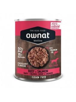 Ownat Buey y salmón con arándanos 400 g
