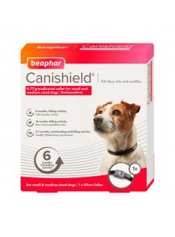Collar Canishield 65 cm 2 uds