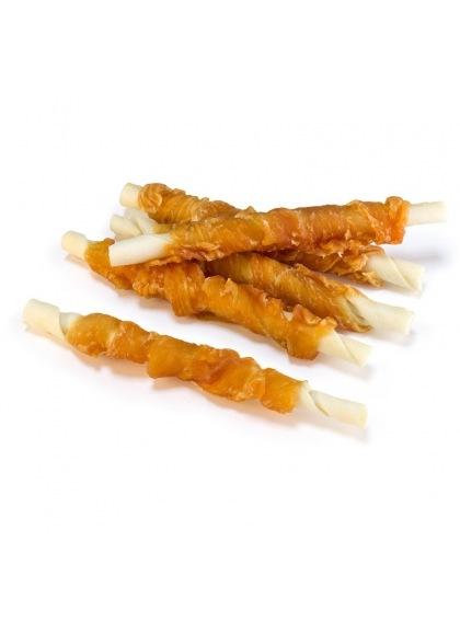 Twist con pollo enrollado 13 cm
