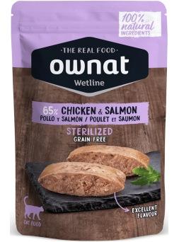 Ownat Pollo y salmón 85 g
