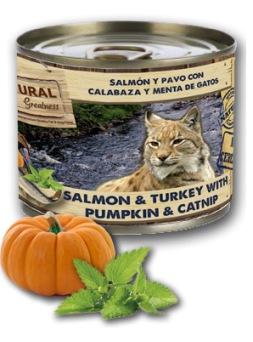 Natural Greatness Salmón y Pavo con Calabaza y Menta