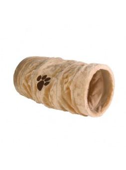 Túnel de juego para gatos Beige