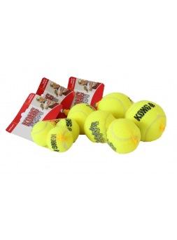 Kong Air Squeaker Tennis Ball - Pelota de tenis con sonido para perro